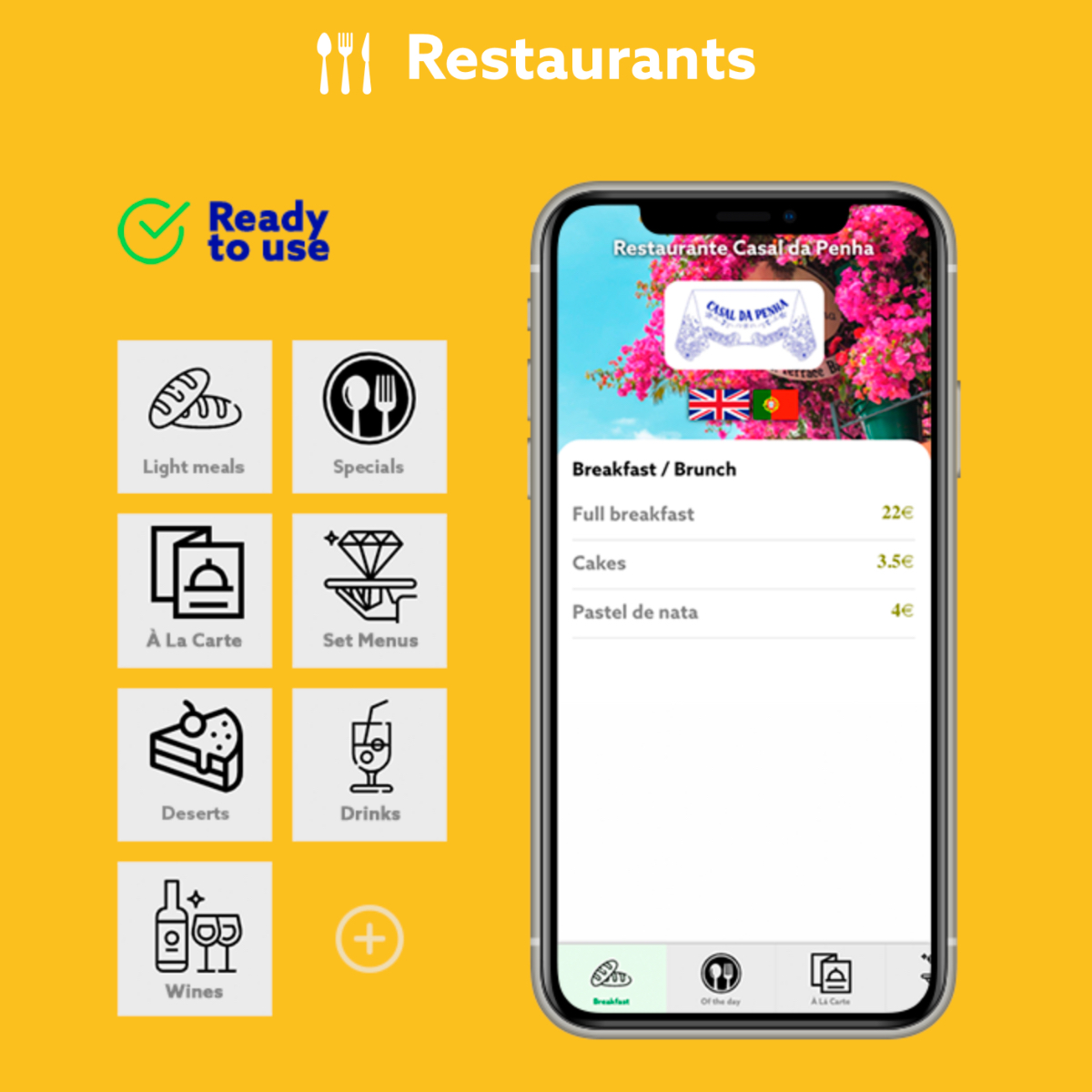 digital menu free qrcode online restaurant